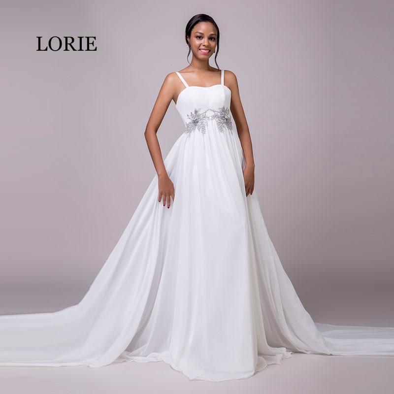 Aliexpress.com : Buy LORIE Chiffon Wedding Dresses Beach