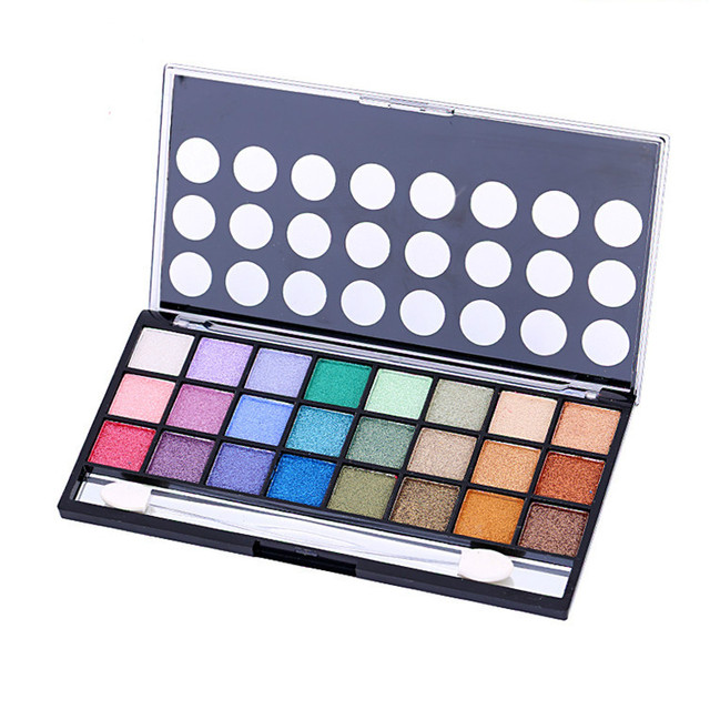 24 Colors Eye Shadow Palette Shimmer Multi Color Make Up Kit Easy To Wear Natural Naked Eyeshadow Maquillage