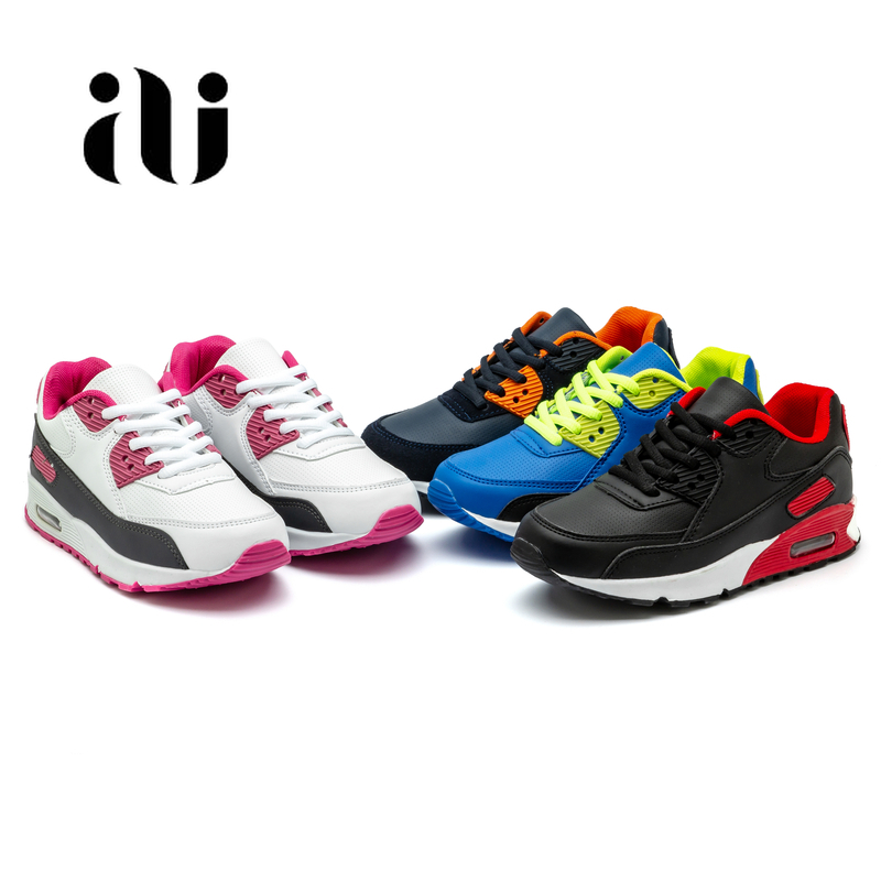 Image 5 - Spring New Kids Pu Leather Shoes Baby Girls Sport Sneakers Children Mesh Shoes Boys Fashion Casual Shoes Soft Brand Trainer 2019-in Sneakers from Mother & Kids
