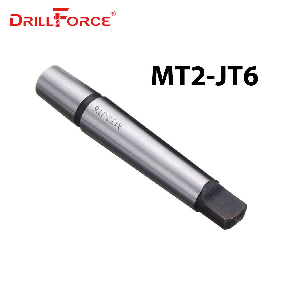 DRILLFORCE New Hot MT2 Shank To JT6 Adapter Morse Taper Drill Chuck Arbor Drilling Lathe Tool Parts
