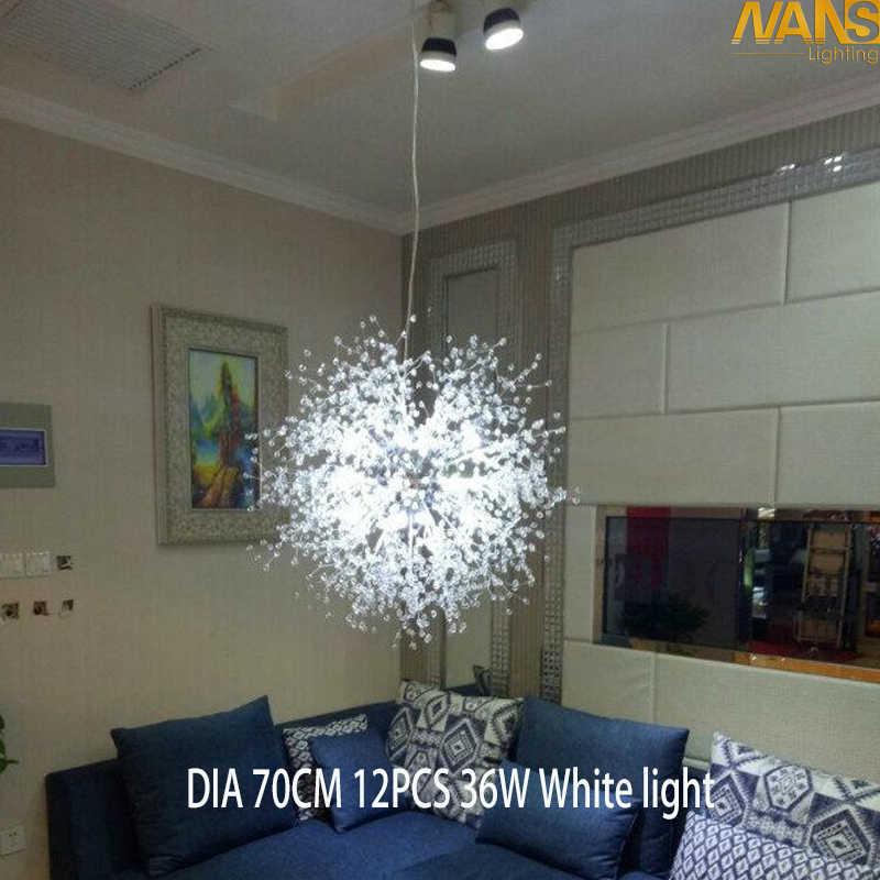 ספוטניק Downlight יהירות אקריליק לבן חם לבן LED מנורת מקור כלול חג המולד chandeier הולם תליון תקרת אור