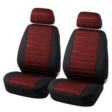 Cubierta de Asiento de coche Universel Para Asiento Delantero Del Automóvil Con Airbag Car-Styling Interior Protector Decoración Accesorios
