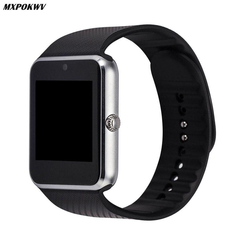 Montre Smart Watch GT08 Horloge Soutien TF Carte Et Carte Sim Portable Montre Bluetooth pour Android Téléphone Smartwatch Montre GT08 VS DZ09 U8