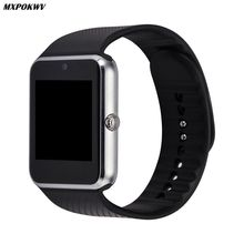 ФОТО smart watch gt08 clock support tf card and sim card wearable bluetooth watch for android phone smartwatch watch gt08 vs dz09 u8