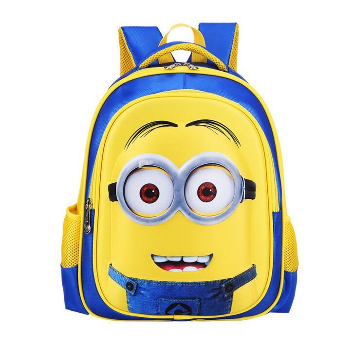 Despicable Me Minions Cartoon School Bags