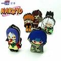 Novo design de 6 estilos legal Uzumaki Naruto flash drive usb de memória dispositivo de armazenamento vara Jiraiya Pen drive U disk 4g 8g 16g 32g