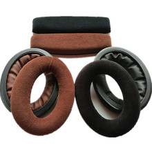 цена на Replacement Ear Pads for Sennheiser HD515 HD555 HD595 HD598 HD558 PC360 Headphones Earpads Cushion with Memory Form 9.25
