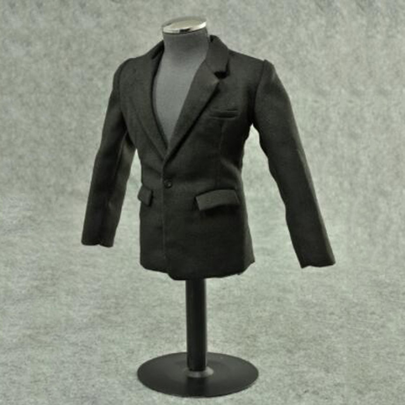 1 6 Scale Youth Handsome Male Man Suit Clothing Clothes Suit With Pants Ties Model Fit