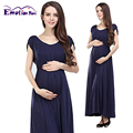 Emotion Moms Fashion long Maternity Clothes Maternity Nursing Dresses Nursing Clothes for pregnant women Breastfeeding Dresses