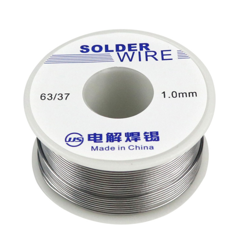 50g/roll 63/37 FLUX 2.0% 45FT Tin Lead Tin Wire Melt Rosin Core Solder Welding Wire Roll 0.8/1.0MM