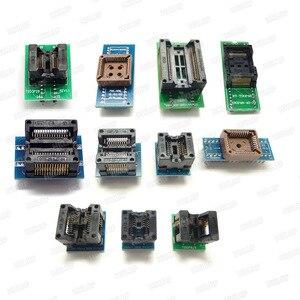 Image 2 - Universal RT809H EMMC Nand FLASH Programmer+26 Items  SOP8 flash Adapter EMMC NAND NOR better than RT809F Free shipping