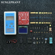 Electronic Circuit Board kit M12864 graphics transistor tester Version control switch easy to use encoder 75x63mm