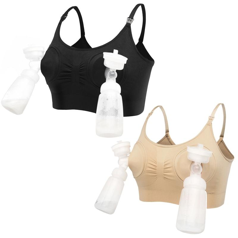 одежда для беременных бюстгальтер для кормления бюстгалтер для кормления свободные руки плюс размер большой размер бюстгальтер для береме...