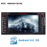 SMARTECH 2 Din Universal Car Multimedia Player Intel Quad Core Android 5 1 1 OS Bluetooth