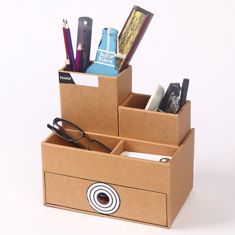 Storage Boxes Bins Paper Drawer Storage Box Office Stationery