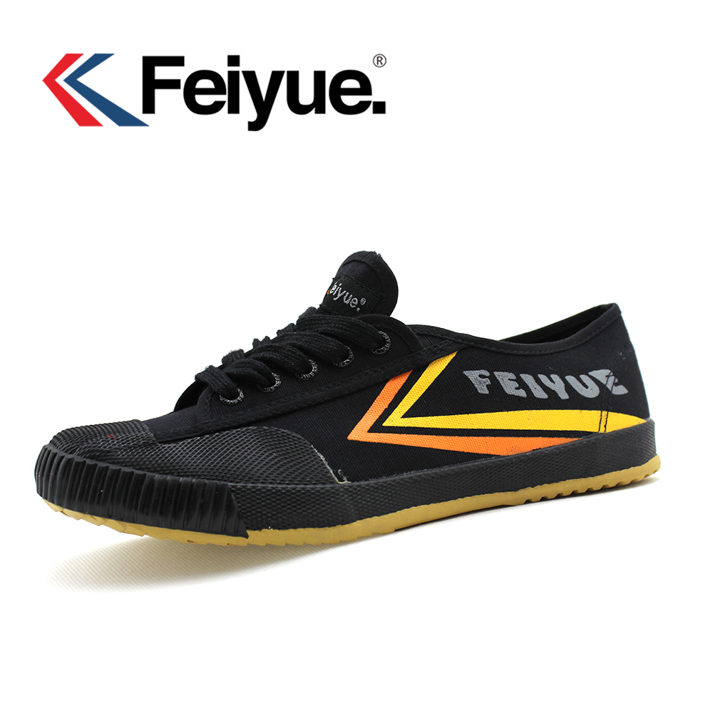 Feiyue chaussures 1920 'felo one Kungfu chaussures d'arts martiaux, noir hommes femmes chaussures