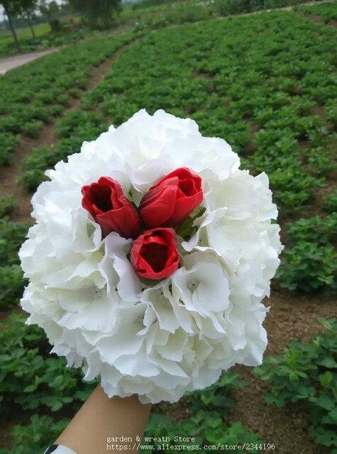 Célèbre Grand hortensia bouquet, décoration maison de mariage, Centres de  XB87