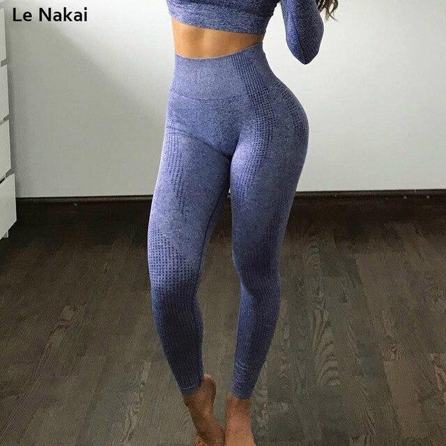 558368a23d730 New Vital Seamless gym leggings high waist tummy control energy seamless  yoga pants squat proof yoga