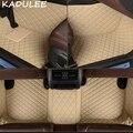 Автомобильный напольный коврик KADULEE из искусственной кожи для Mercedes benz E Class w211 2005-2016 2017 2018  индивидуальный автомобильный коврик для ног  автом...