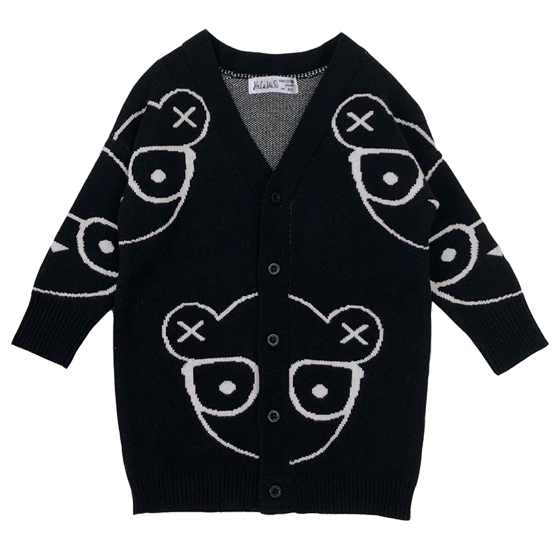 Autumn Kids Girls Sweaters And Cardigans Cartoon Animal Boys Sweaters Cotton Baby Girls Knited Jackets Winter Children Knitwear autumn kids girls sweaters and cardigans cartoon animal boys sweaters cotton baby girls knited jackets winter children knitwear