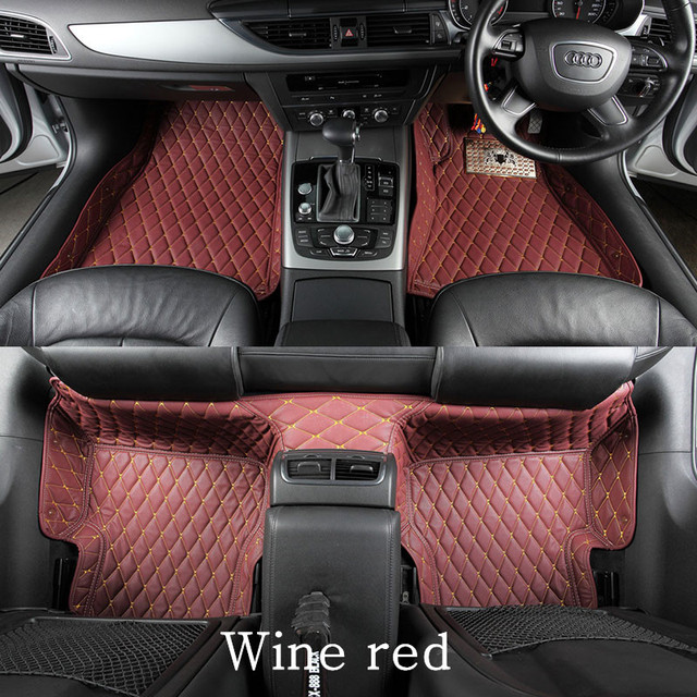 Custom Car Floor Mats For Mazda 6 Mazda6 2010/mazda3 2012/mazda 6  Accessories