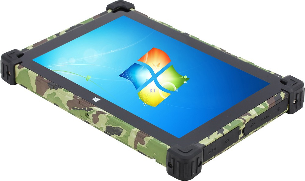 China Rugged Tablet Pc Panel Metal Windows 7 8 1 10 Cpu N2930 Point Screen 4gb Ram 64gb Ssd 3g Usb Rj45 Hdmi In Mobile Phones From