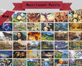 Hot Types Last Day On SALE 1000 pieces of thick paper puzzle landscape jigsaw adult education toy Christmas gifts adult puzzles