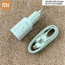 Original XIAOMI Fast Charger 12V/1.5A QC3.0 Adapter USB TYPE C Data Cable For Mi F1 A1 A2 5 6 8 9 SE Redmi S1 S2 Note 7 k20 Pro(China)