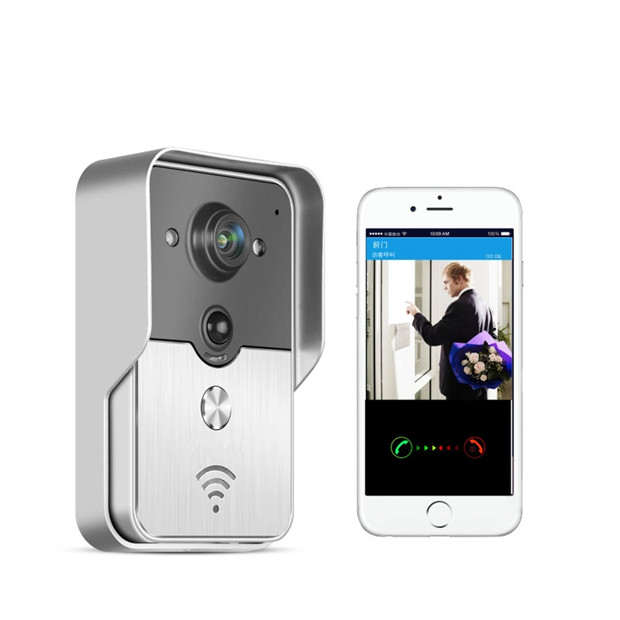 Wireless Intercom  WIFI  Video Door Phone Access Control System APP Remote Control bw wireless wifi door