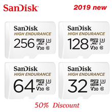 AD ALTA RESISTENZA SanDisk microSD Card 32GB U1 scheda di memoria Fino a 100 MB/s 64GB 128GB 256GB classe 10 video velocità U3 V30 Full HD 4K
