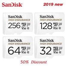 SanDisk yüksek dayanıklılık microSD kart 32GB U1 hafıza kartı 100mb/sye kadar 64GB 128GB 256GB sınıf 10 video hızlı U3 V30 Full HD 4K