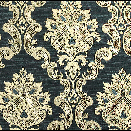European Luxury Gold Silver Background Wallpaper 3D Embroidery Gold Wallpaper Roll PVC Waterproof Ceiling Living Room