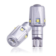 2 pçs extremamente brilhante t15 w16w 921 912 30w xbd chip carro led reverso luz de backup lâmpada cauda traseira estacionamento luzes 6000k branco