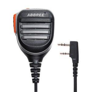 Image 3 - Abbree AR 780 Ptt Afstandsbediening Waterdichte Schouder Speaker Microfoon Handheld Microfoon Voor Kenwood Tyt Baofeng UV5R UVS9 Walkie Talkie
