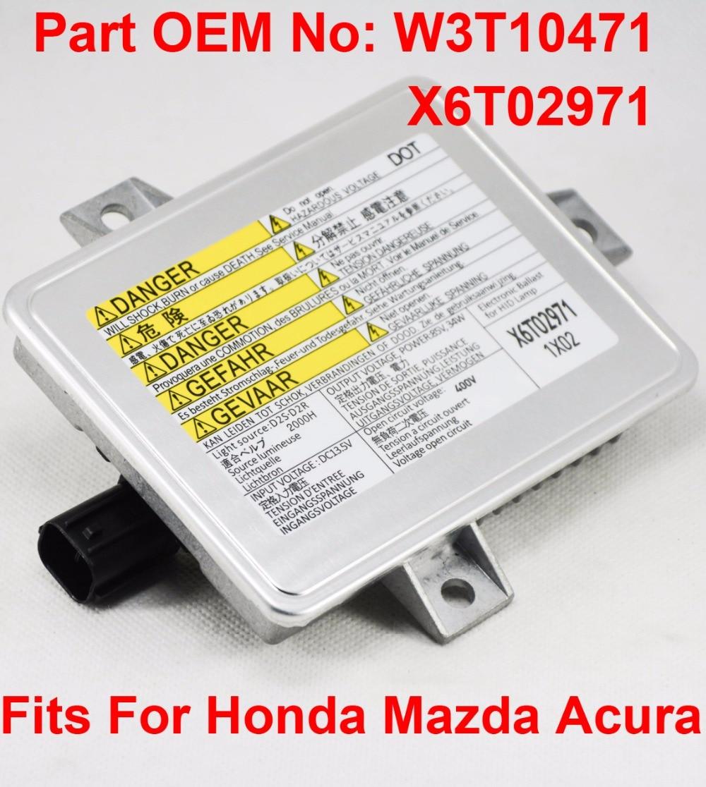 2x 35W D2S D2R OEM HID Xenon Headlight Ballast Computer Control Unit W Igniter Part W3T10471