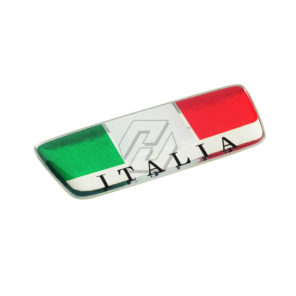 3D Italy Sticker Motorcycle Tank Decals Windshield Italia Stickers Case For Aprilia Ducati Vespa GTS GTV For AGV Helmet
