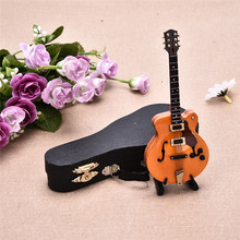 High-end Mini Instrument Exquisite Guitar Desktop Decor Top Grade Gift Mini Musical Instrument Models Of Delicate Box Hot Sale