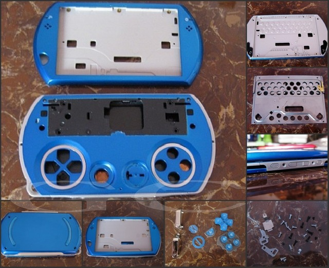 US $35 0 |Full Housing Shell Case for PSPGO/blue replace game console shell  for PSP GO /for PlayStation Portable Go> /for PSP N1000/for GC trong Full