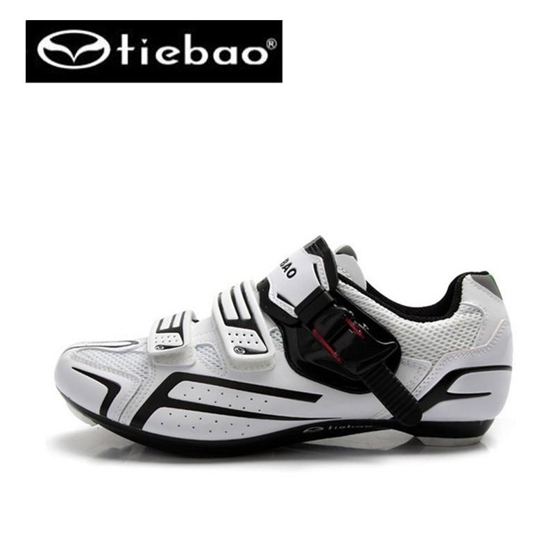 Фотография Tiebao sapatilha ciclismo shoes Athletic Racing Road Cycling Shoes Self-Locking sneakers zapatillas deportivas mujer for Men