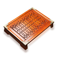 Boutique Chinese Kung Fu Tea Tray Wood Tea Tray Home Office Coffee Table Decoration Gift Tea