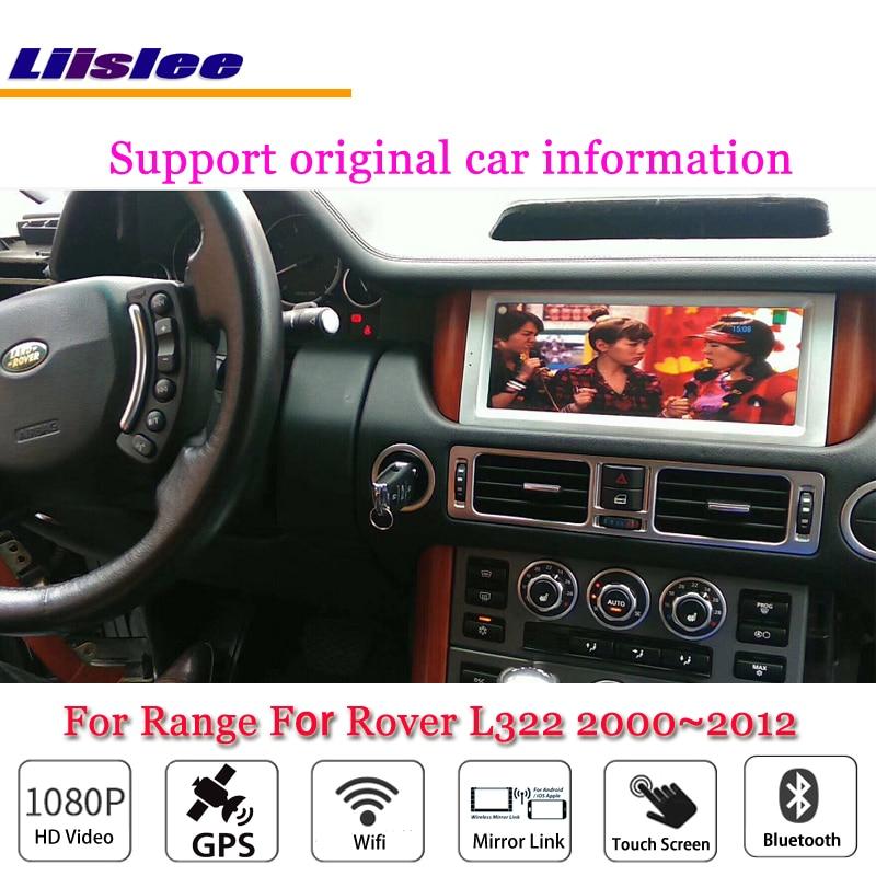 Liislee Auto Multimediale Android Per La Range Per Rover L322 2000 ~ 2012 Radio Video Stereo Wifi GPS Mappa di Navigazione Navi sistema di No DVD