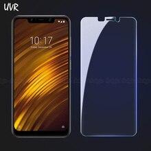 UVR For Xiaomi Pocophone F1 Anti-blue Tempered Glass Screen Protector For Pocophon F1 Pocofone Poco Pokophone Pocofon F1 Glass чехол для xiaomi pocophone f1 для xiaomi pocophon f1