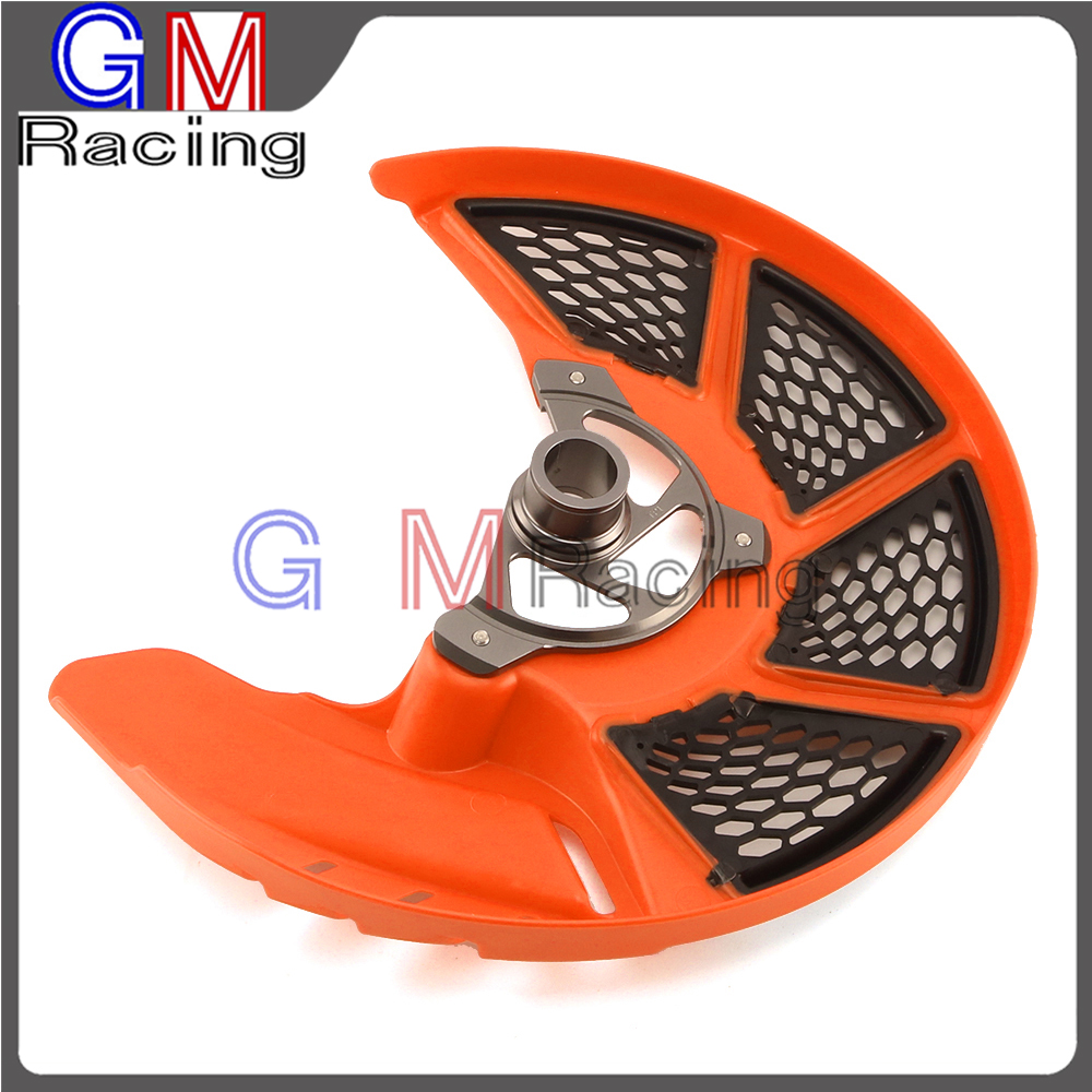 Front Brake Disc Rotor Guard Protector Cover For <font><b>KTM</b></font> SX SXF XC XCF EXC EXCF 125 150 250 350 <font><b>450</b></font> 500 530 2015 2016 <font><b>2017</b></font> Dirt Bike image
