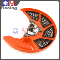 Front Brake Disc Rotor Guard Protector Cover For KTM SX SXF XC XCF EXC EXCF 125 150 250 350 450 500 530 2015 2016 2017 Dirt Bike