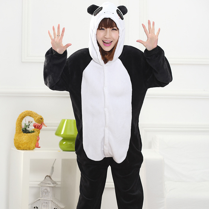 Unisex Adult Flannel Pajamas Cosplay Cartoon Cute Animal Onesie Pyjama Sets Sleepwear Pikachu Unicorn Panda Christmas suits