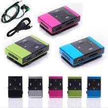 Новые мини-наушники Mp3 музыкальный плеер Mp3 плеер Поддержка Micro TFCard слот USB MP3 S порт плеер USB порт с наушниками для телефона