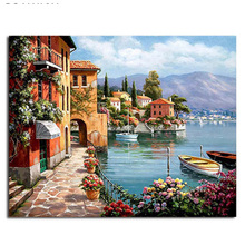 Painting By Numbers Frameworks coloring by numbers Pictures Home Decor canvas painting  Decorations Modular pictures