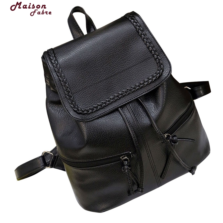 Women Lady Leather Satchel Shoulder Backpack School Travel Rucksack Bags 803 #23