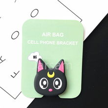 socket Universal Cat claw mobile phone stretch bracket Cartoon air Phone Expanding phone Stand Finger car phone Holder