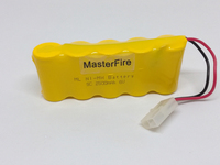 MasterFire 2PACK LOT Brand New 6V 2500mAh SC Ni MH Rechargeable Battery NiMH Batteries Pack For
